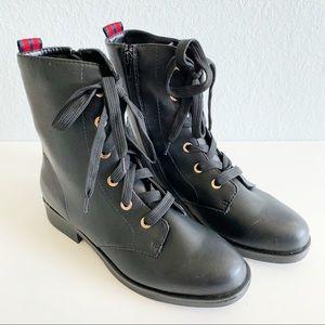 Bamboo Combat Boots NIB